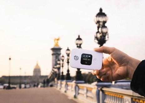 Paris boitier travel wifi Pont - Travel Wifi - Travel Wifi ou l'art de se simplifier la vie - Europe, France