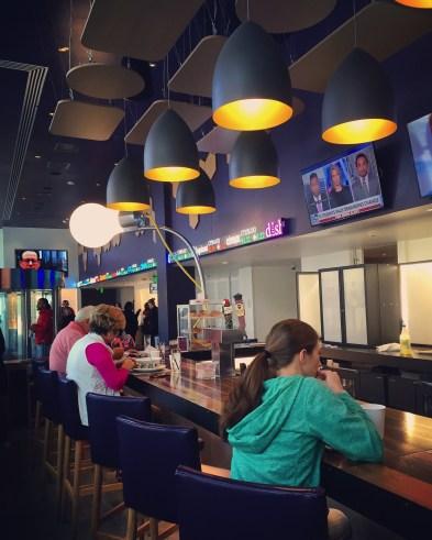 Restaurant Yotel - Le Yotel - L'émergent Seaport District à Boston - Amérique, États-Unis, Massachusetts