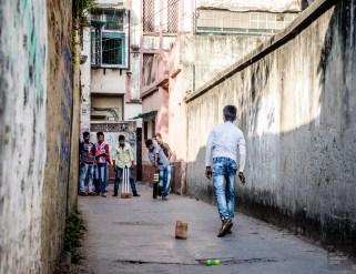 cricket ruelle - kolkata - L Inde du Nord en quatre étapes - Asie, Inde
