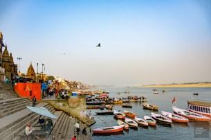 ghat Gange - varanasi - L Inde du Nord en quatre étapes - Asie, Inde