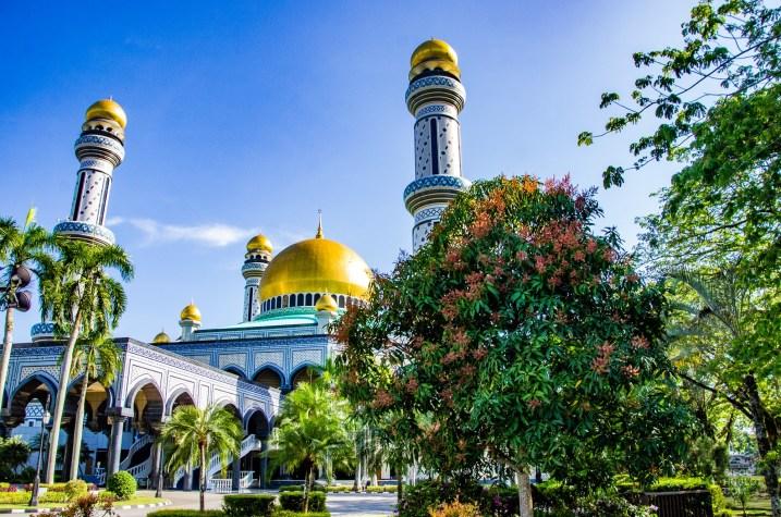 mosquee Asr Hassanil Bolkiah - Sultanat de Brunei Darussalam - Asie, Brunei
