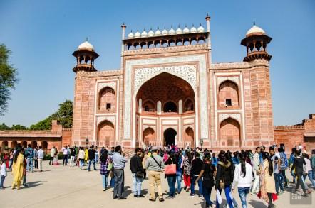 porte entree taj mahal - agra - L Inde du Nord en quatre étapes - Asie, Inde