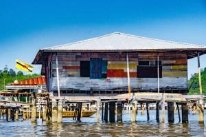 village flottant - Sultanat de Brunei Darussalam - Asie, Brunei