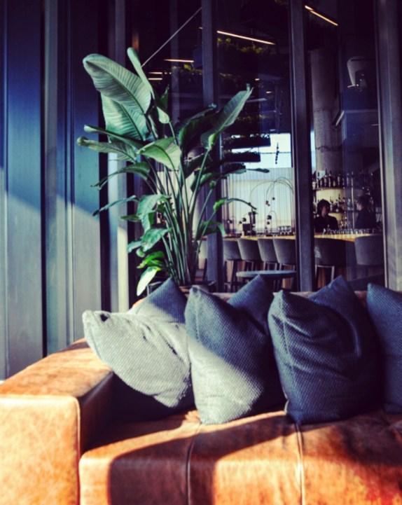 Sofa en cuir dans le lobby - Rappel de la nature - Tous les petits plus du Alt+ - Amérique du Nord, Canada, Québec, Montréal