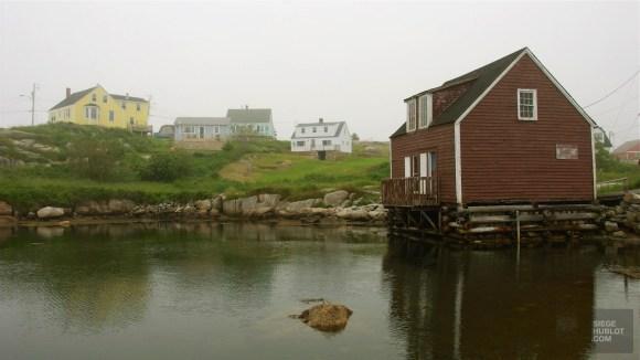 Village pêcheurs - Nouvelle-Écosse - Le Canada dans ma langue - Amérique du Nord, Canada