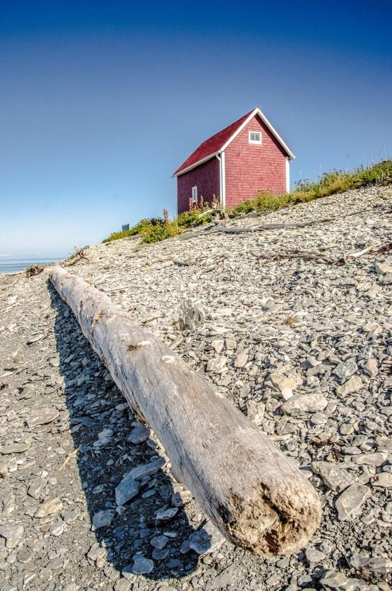 maison rouge - Escapade l Archipel de Mingan, Cote-Nord, Quebec - Quebec