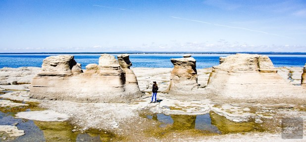 monolithes - Escapade l Archipel de Mingan, Cote-Nord, Quebec - Quebec