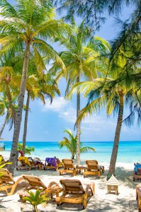 plage - Centara ras fushi - Les Maldives, le grand luxe en plein ocean Indien. - Asie, Maldives