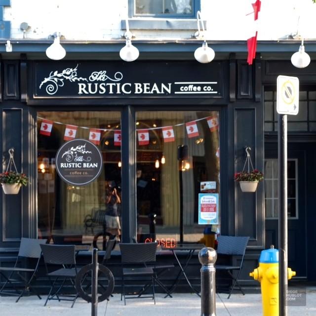 Café Rustic Bean de Cobourg - Ontario's Feel Good Town - Road trip - Amérique du Nord, Canada