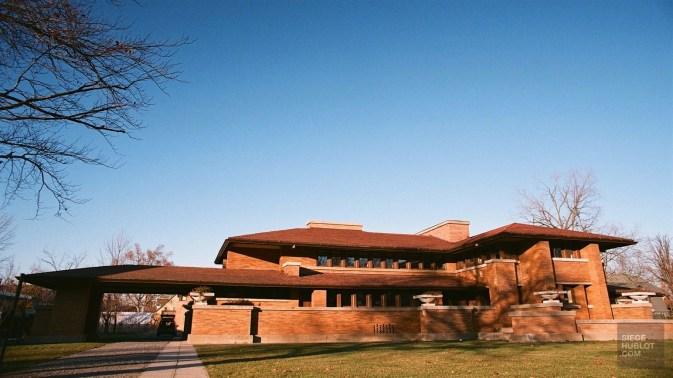Martin House Complex de Frank Lloyd Wright à Buffalo - ville de nickel et d'architecture - Road trip en Ontario - Amérique du Nord, Canada