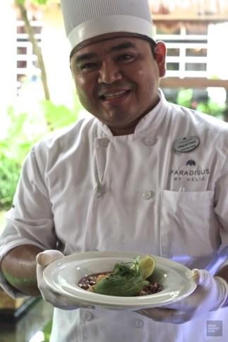 Chef de l'hôtel - Cours de cuisine - Un Paradisus à Playa Del Carmen - Amérique du Nord, Mexique