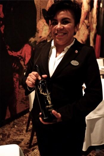 La sommelière du restaurant - La passion selon Martin Berasategui - Un Paradisus à Playa Del Carmen - Amérique du Nord, Mexique