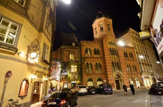 Architecture Vienne nuit - Vienne, Autriche - Marchés de Noël - Europe, Autriche, République tchèque, Slovaquie