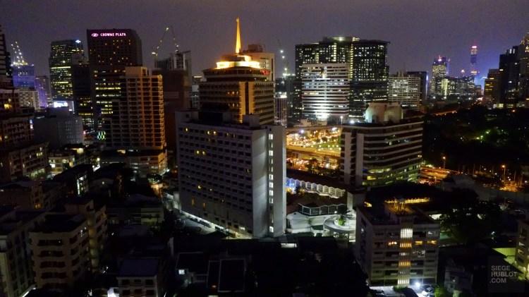 La vue - Bandara Suites Silom, Bangkok - Asie, Thaïlande