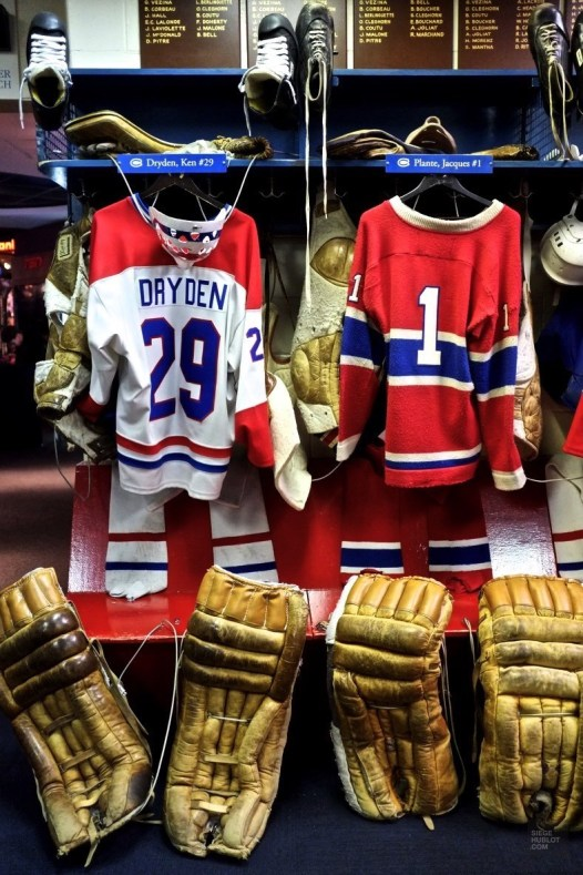 Canadiens de Montréal vestiaire - Temple de la renommée du hockey - Week-end de gars à Toronto - Amérique du nord, Canada