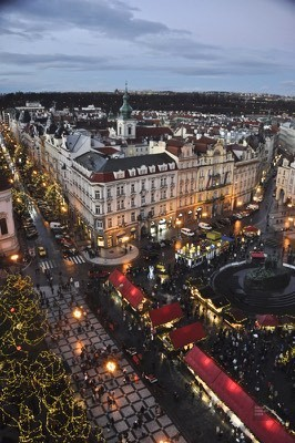 Place Prague - Prague, République tchèque - Marchés de Noël - Europe, Autriche, République tchèque, Slovaquie