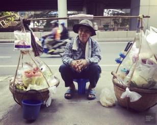 Vendeur de rue - Autour de l'hôtel - Un Bandara à Bangkok - Asie, Thaïlande