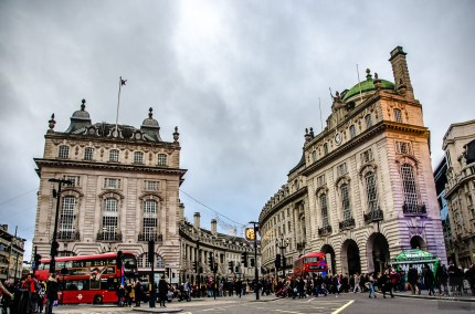 Piccadilly Circus - Courte escale a Londres - Europe, Angleterre