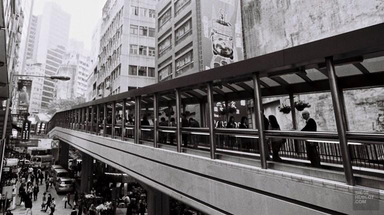 Central-Mid-Levels escalator - Quoi voir - Séjour à Hong Kong - Asie, Chine