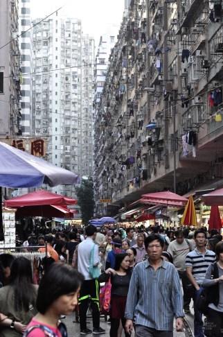 Chun Yeung Street - Les nombreux marchés - Séjour à Hong Kong - Asie, Chine