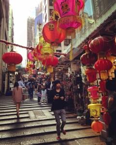 Pottinger Street - Quoi voir - Séjour à Hong Kong - Asie, Chine