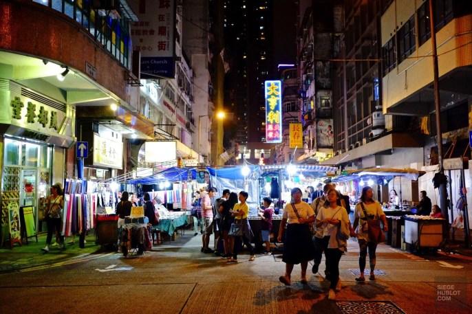 Temple Street market - Visiter avec l'habitant - Séjour à Hong Kong - Asie, Chine