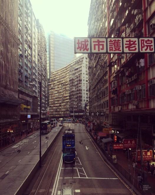Un tramway le jour - Découvrir Hong Kong - Séjour - Asie, Chine