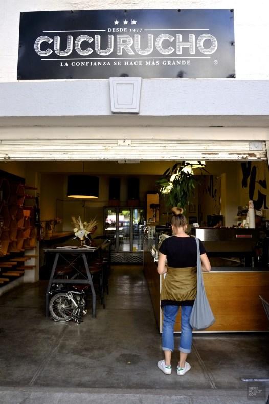 Extérieur Cucurucho - Cucurucho Cuauhtémoc dans Roma - 3 cafés à Mexico - Amérique du Nord, Mexique