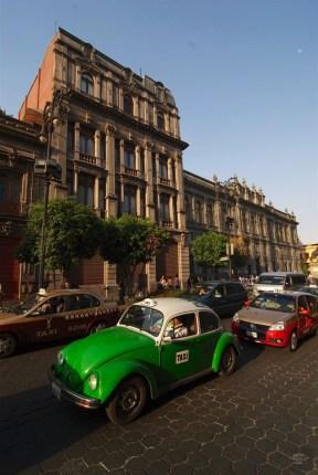 Taxis - Un quartier chic - Un hôtel InterContinental dans Polanco - Amérique du Nord, Mexique