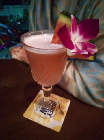 Un cocktail au Jikko Bar - Le Night Market - Pai et la fraicheur des montagnes - Asie, Thaïlande