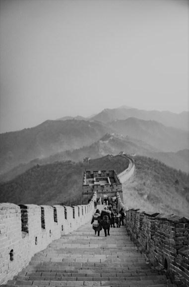 marche muraille - Mutianyu - La Grande Muraille de Chine, un lieu mythique - Asie, Chine