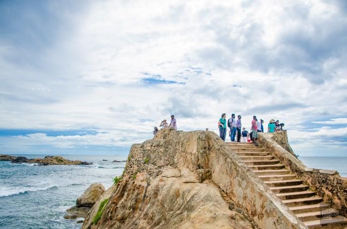 mer fort - La ville fortifiee de Galle - Les plages du Sri Lanka et plus encore - Asie, Sri Lanka