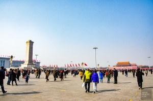 place tiananmen - Beijing - La Grande Muraille de Chine, un lieu mythique - Asie, Chine