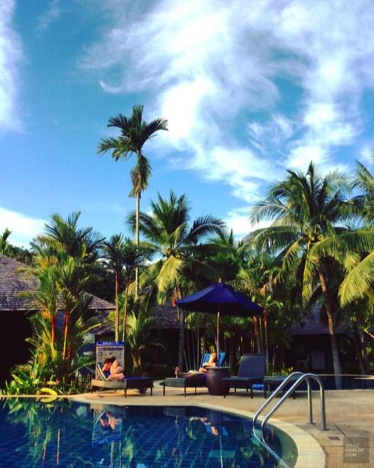 Repos et bain de soleil - Les Piscines et la Mer - Des vacances à Krabi - Asie, Thaïlande