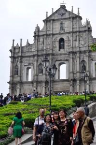 Façade de l'église de la Mère-de-Dieu - Le centre historique - Découvrir Macao - Destination, Asie, Chine