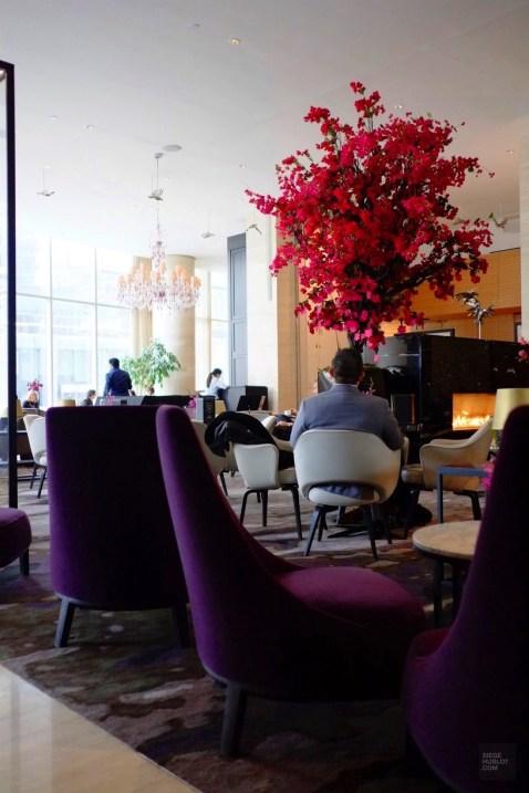 Lobby avec foyer - Shangri-La - 12 Hôtels à Toronto - Amérique du Nord, Canada, Ontario