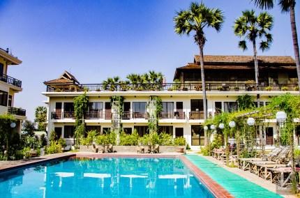 piscine - Ou loger - A la recherche du temple perdu Bagan, Myanmar - Asie, Myanmar