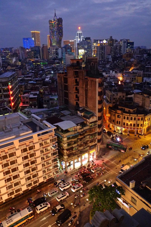Vue du Sofitel - La Tour Macao - Découvrir Macao - Destination, Asie, Chine