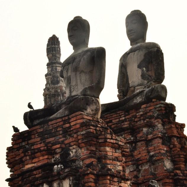 Méditation - Et quoi d'autre? - Le parc historique d'Ayutthaya - Destination, Asie, Thaïlande