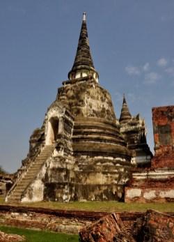 Wat Phra Si Sanphet - Les Temples (Wat) - Le parc historique d'Ayutthaya - Destination, Asie, Thaïlande