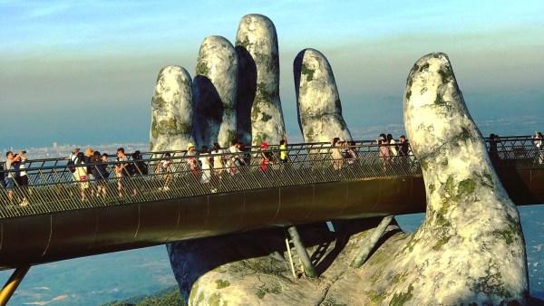 BaNa Hills - Faire le Pont à Ba Na Hills - Asie, Vietnam
