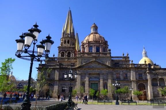 La cathédrale - Architecture coloniale - Tout ça à Guadalajara - Destination, Amérique du Nord, Mexique