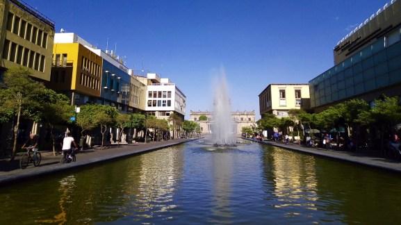 La fontaine de la Plaza Tapatia - Architecture coloniale - Tout ça à Guadalajara - Destination, Amérique du Nord, Mexique