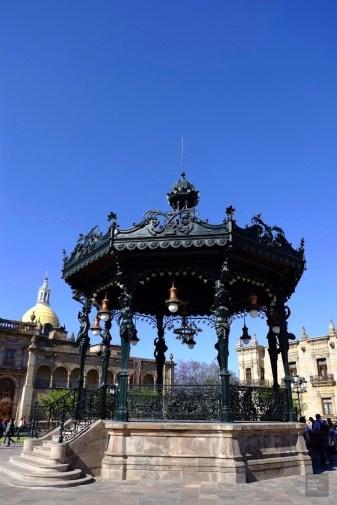 Le kiosque - Architecture coloniale - Tout ça à Guadalajara - Destination, Amérique du Nord, Mexique