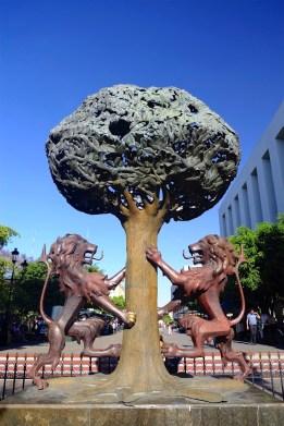 Sculpture à la Plaza Tapatia - Architecture coloniale - Tout ça à Guadalajara - Destination, Amérique du Nord, Mexique