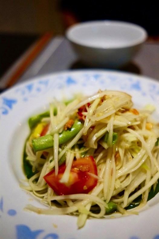 Salade de papaye - Et encore plus! - 12 Restos Coups de Coeur à DaNang - Destination, Asie, Vietnam, Restos