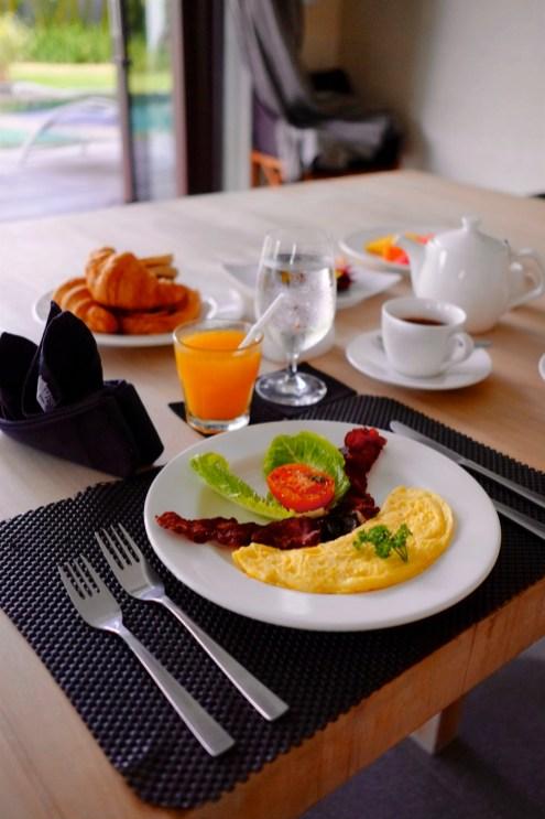 Petit-déjeuner - Service et confort - Vivre le rêve à Bali - Asie, Indonésie, Hôtels