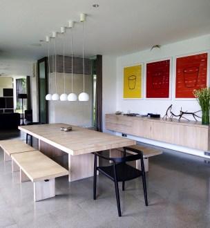 Salle à diner - Modernisme balinais - Vivre le rêve à Bali - Asie, Indonésie, Hôtels