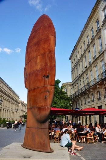 Oeuvre de Jaume Plensa - Bordeaux - Destination Nouvelle-Aquitaine - France, Europe