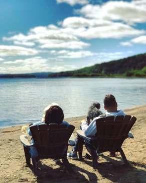 Avec les chiens - Auberge du Lac Taureau - Amérique du Nord, Canada, Québec, Lanaudière, À haire, Hôtels, Roadtrip